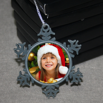 sublimation hot selling ceramic ornament blanks for X-mas stockings